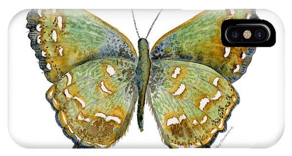 Moth iPhone Case - 38 Hesseli Butterfly by Amy Kirkpatrick