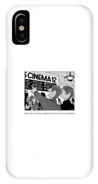 Not Another Movie About Straight People In Love IPhone Case