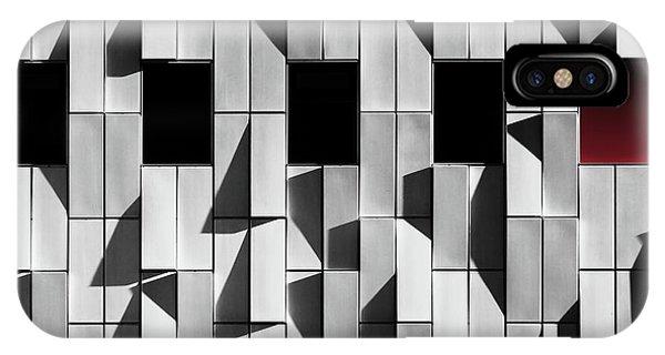 Panel iPhone Case - 3d Facade by Hans-wolfgang Hawerkamp