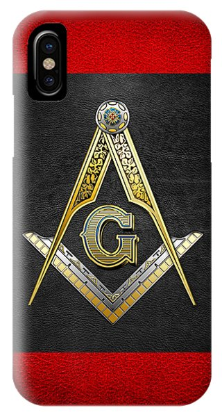 3rd Degree Mason - Master Mason Masonic Jewel  IPhone Case