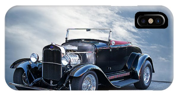 1930 Ford Model A Roadster Phone Case by Dave Koontz