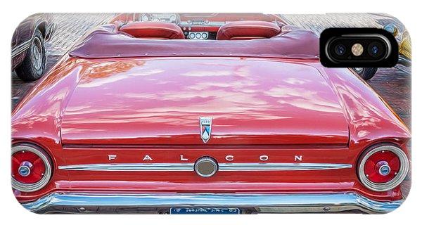 1963 Ford Falcon Sprint Convertible  IPhone Case