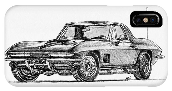 iPhone Case - 1967 American Muscle by J McCombie