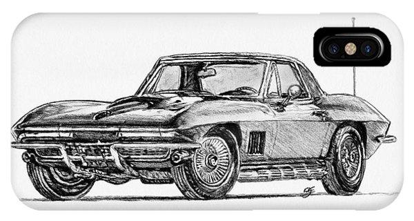 1967 Corvette IPhone Case