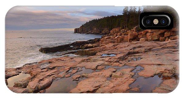 Acadia Sunrise Phone Case by Stephen  Vecchiotti