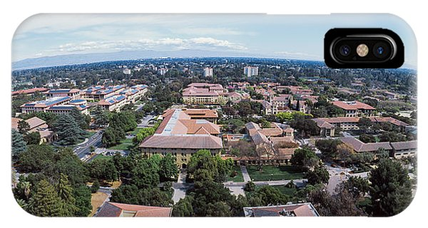 Aerial View Of Stanford University IPhone Case