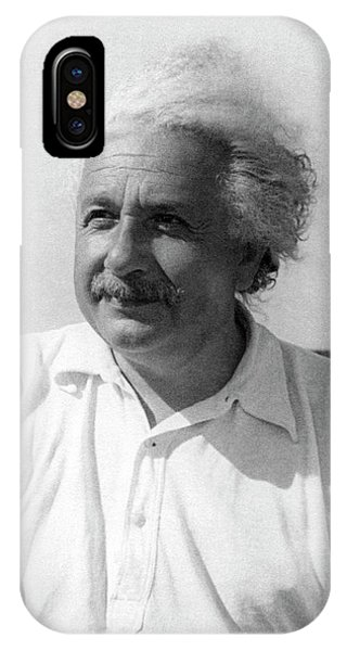 Astrophysical iPhone Case - Albert Einstein by Emilio Segre Visual Archives/american Institute Of Physics