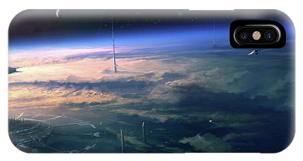 Alien Civilisation Phone Case by Gary Tonge / Science Photo Library