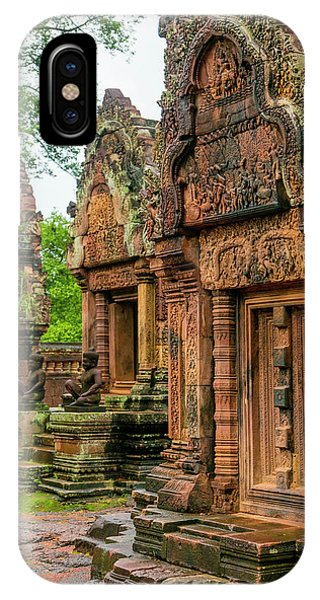 Cambodia iPhone Case - Banteay Srei, Angkor, Siem Reap by Douglas Peebles