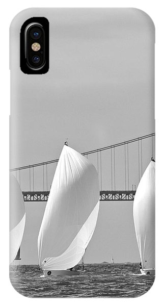 Bay Spinnakers IPhone Case