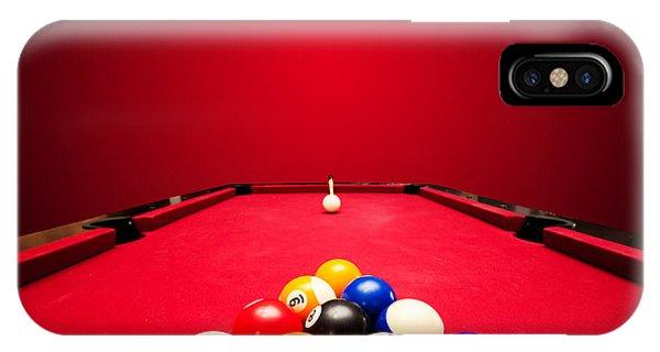 Billards Pool Game IPhone Case