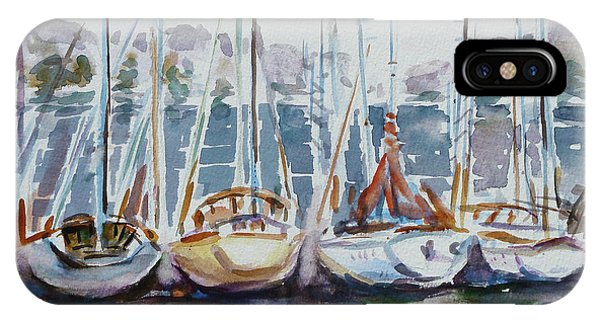 4 Boats IPhone Case