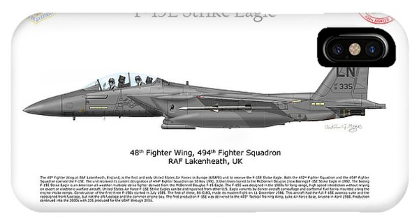 Boeing F-15e Strike Eagle IPhone Case