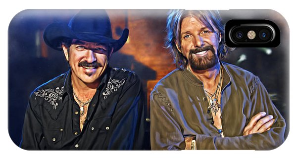 Brooks And Dunn IPhone Case