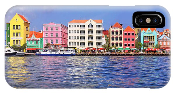 Distant iPhone Case - Buildings At The Waterfront by Panoramic Images