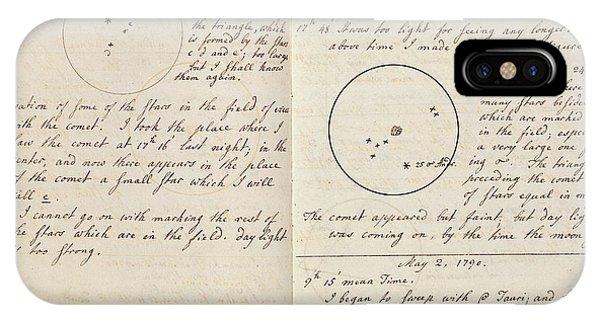 Caroline Herschel Comet Discovery IPhone Case