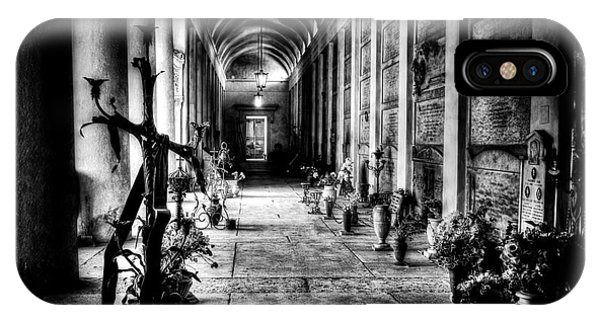 Cemetery Of Verona IPhone Case