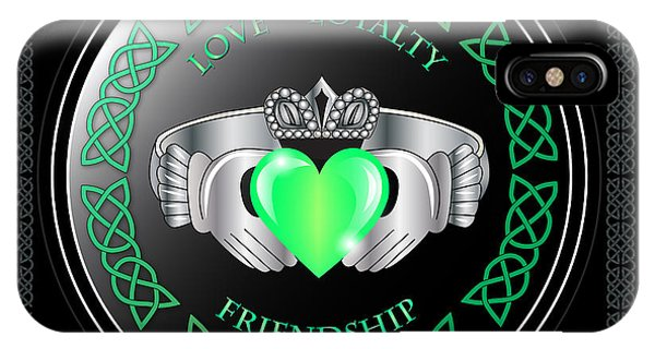 Irish iPhone Case - Claddagh Ring by Ireland Calling