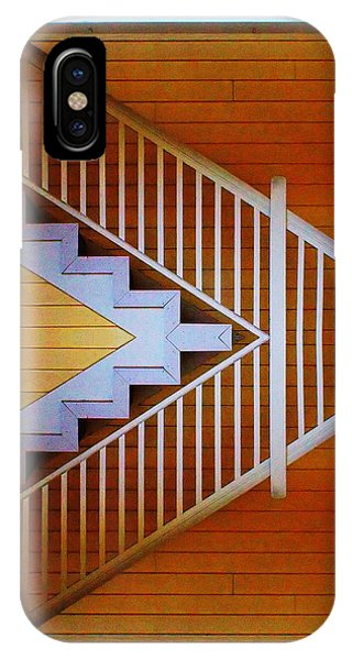 Distorted Stairs IPhone Case
