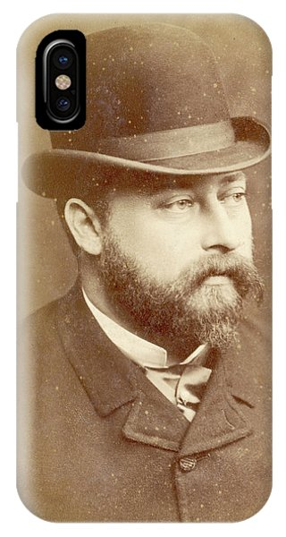 Edward Vii, British Royalty As Prince Phone Case by Mary Evans Picture Library