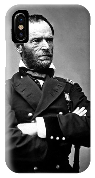 March iPhone Case - General William Tecumseh Sherman by War Is Hell Store