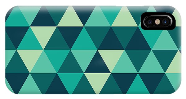 Background iPhone Case - Geometric Art by Mike Taylor