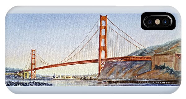 Golden Gate Bridge San Francisco IPhone Case