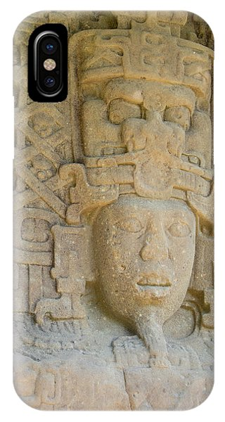 Maya iPhone Case - Guatemala, Quirigua Mayan Ruins by Cindy Miller Hopkins