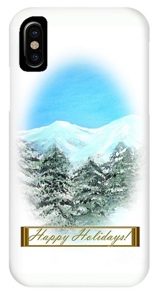 Happy Holidays. Best Christmas Gift IPhone Case