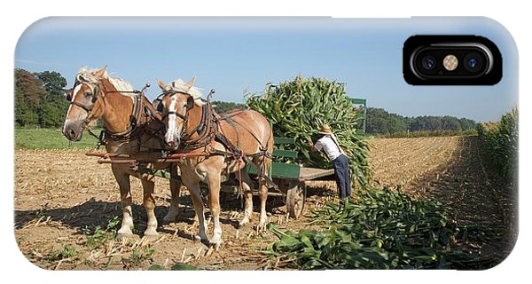 Harvest On An Amish Farm Phone Case by Jim West