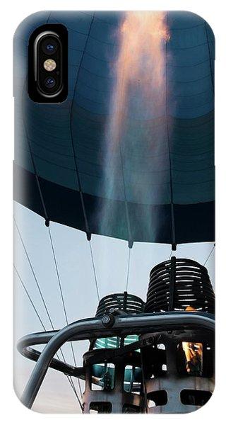 Hot Air Balloon Gas Burner IPhone Case