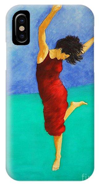 Jump Of Joy IPhone Case