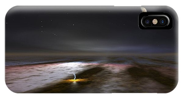 Jupiter And Its Moons, Artwork IPhone Case