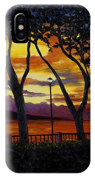 Lahaina Sunset IPhone Case