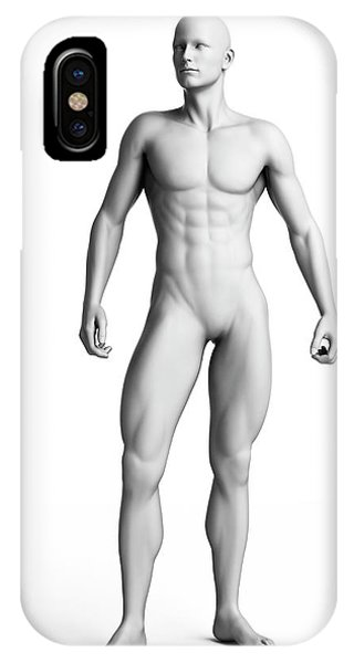 Man Standing Phone Case by Sebastian Kaulitzki