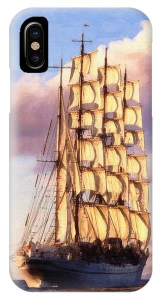 4 Mast Barque IPhone Case