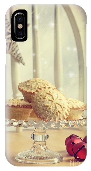 Icing iPhone Case - Mince Pies by Amanda Elwell