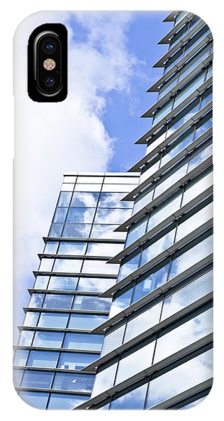 Developed iPhone Case - Modern Building by Tom Gowanlock