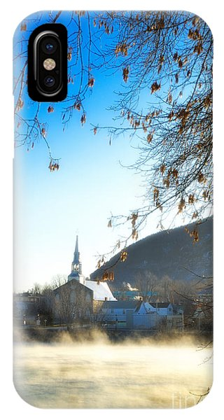 Mont Saint Hilaire Quebec Winter IPhone Case