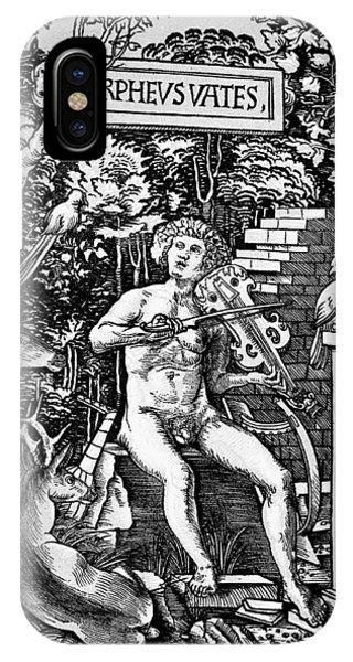 Mythology Orpheus Phone Case by Granger