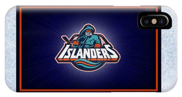 Islanders iPhone Case - New York Islanders by Joe Hamilton