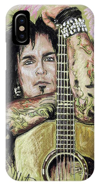 Nikki Sixx IPhone Case