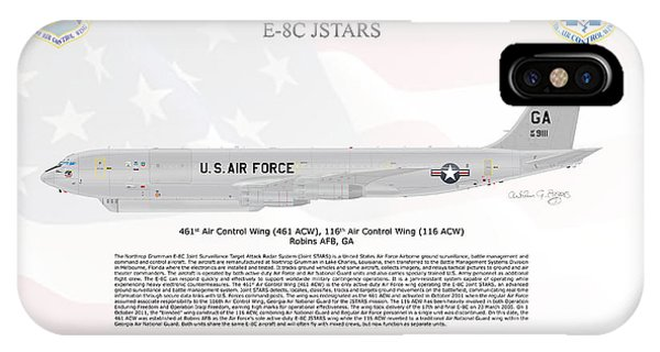 Northrop Grumman E-8c Jstars IPhone Case