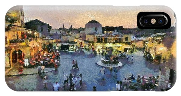 Old City Of Rhodes IPhone Case