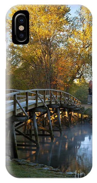 Old North Bridge Concord IPhone Case