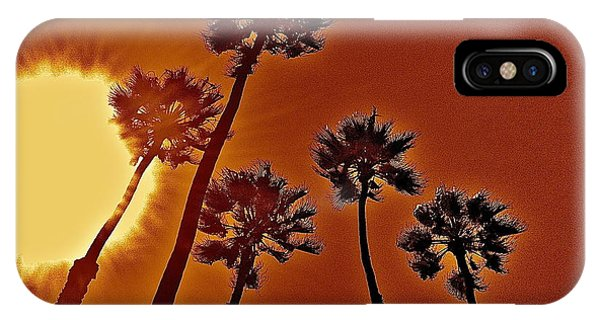 4 Palms N Sun IPhone Case