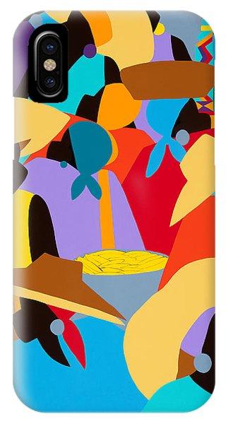 iPhone Case - Petion-ville Market I by Synthia SAINT JAMES