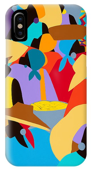 Petion-ville Market I IPhone Case