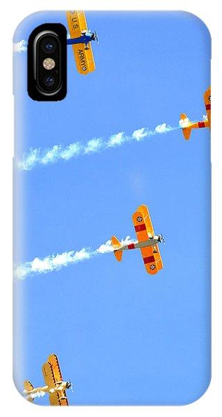 4 Planes 12934 IPhone Case