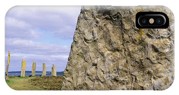 Ring Of Brodgar, Orkney Islands IPhone Case